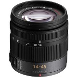 PANASONIC Lumix G Vario 14-45mm f/3.5-5.6 ASPH/MEGA O.I.S [H-FS014045E] - Camera Mirrorless Lens
